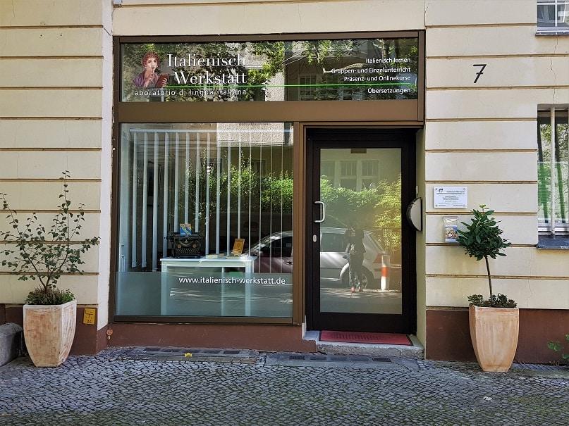 Italienisch Werkstatt Schaufenster Wilmersdorf